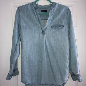 Gap chambray blouse